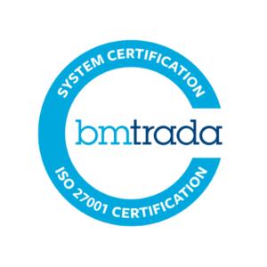 GradeMakers BM Trada ISO 27001 Certified