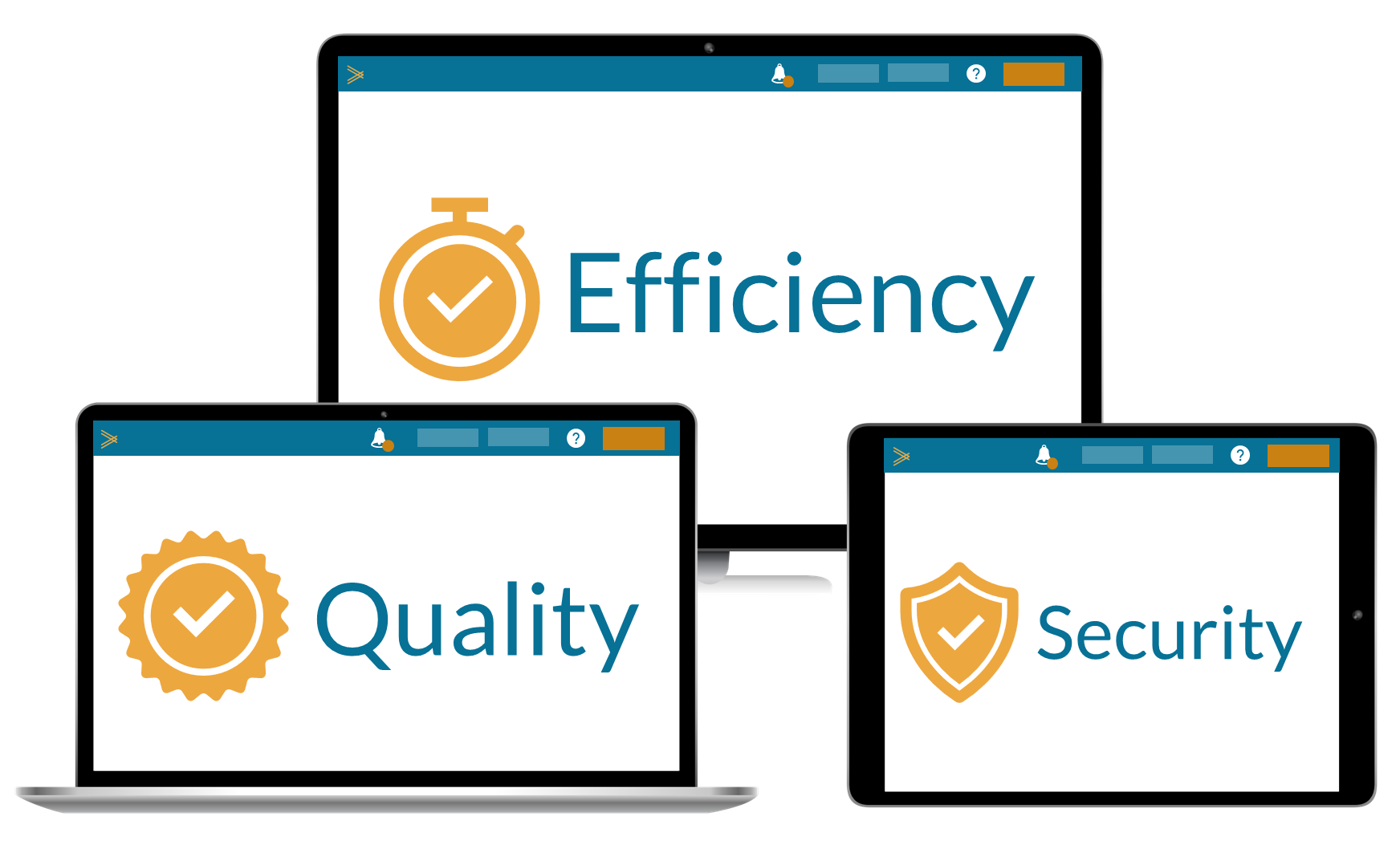 What We Do: Quality Efficiency Security