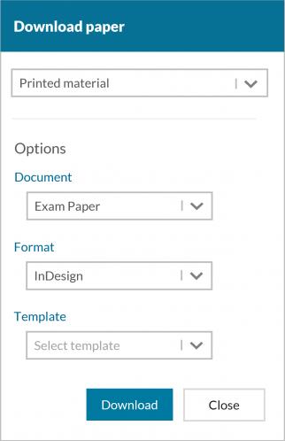Download Test - Paper Publishing Option